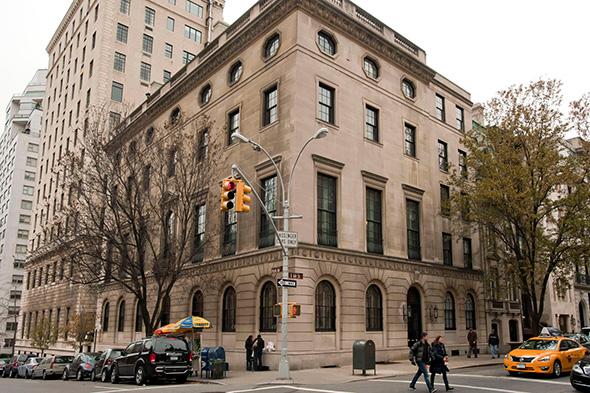 CFR (Council on Foreign Relations - Dış İlişkiler Konseyi) Merkez Binası Newyork