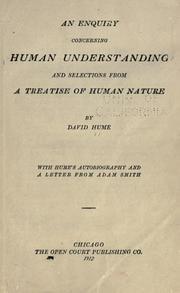 İnsan Zihni Üzerine Bir Araştırma / David Hume