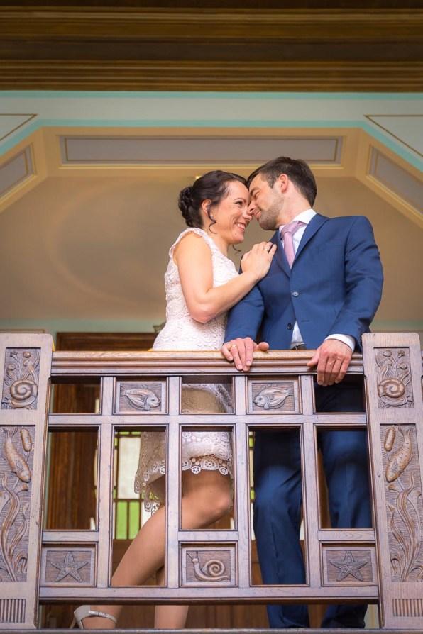 Brautpaar im Sassnitzer Rathaus