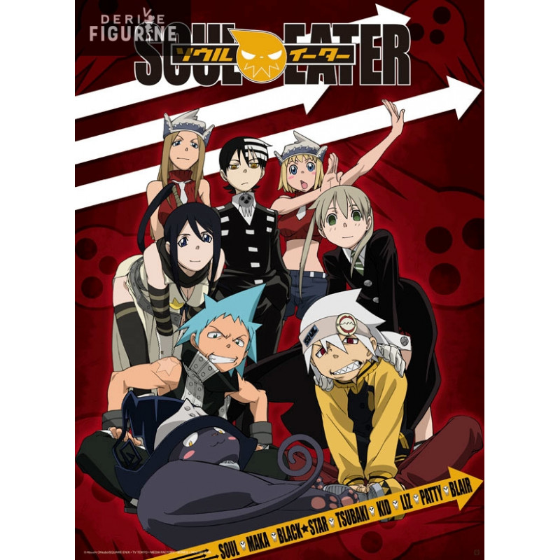 poster soul eater diorama of the heroes abystyle