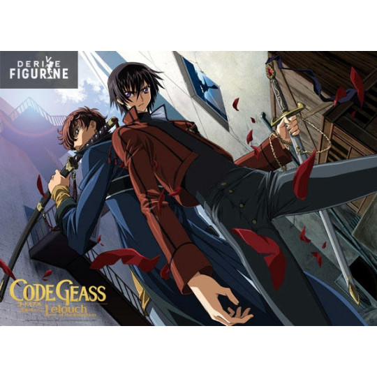 poster code geass lelouch of the rebellion lelouch and suzaku