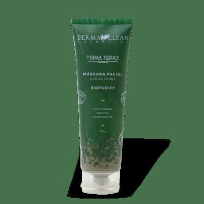Mascara facial de argila Verde biopurify
