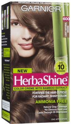 Semi-permanent hair dyes synthetic