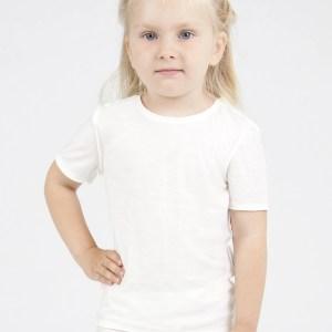 child wearing dermacura short sleeve shirt