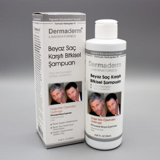 Beyaz Saç Önleyici Dermaderm Şampuan 250 ml