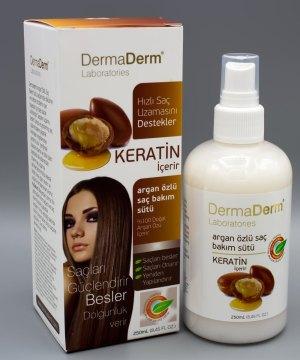 Dermaderm Argan Yağı Özlü Saç Bakım Sütü 250 ml
