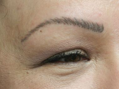 After Permanent Eyebrows e