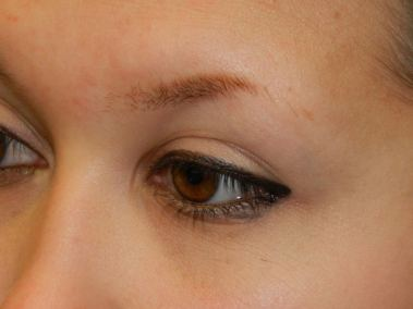 Before Permanent Eyebrows c
