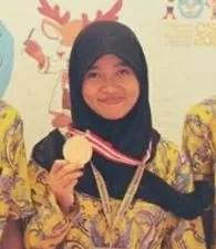 Sani Afifah, Pelajar SMA Asal Dermaji Berhasil Mendapat Medali Perunggu dalam Olimpiade Sains Nasional