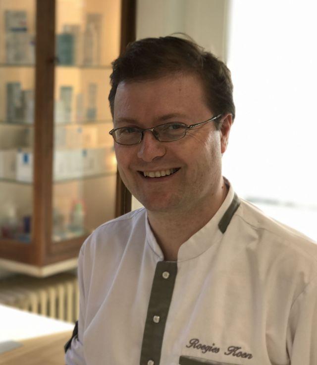 Dr K.A.M Koen Roegies dermatologue portrait