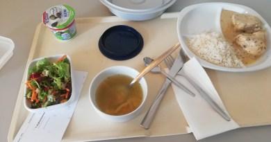 Mittagessen im Krankenhaus Düren