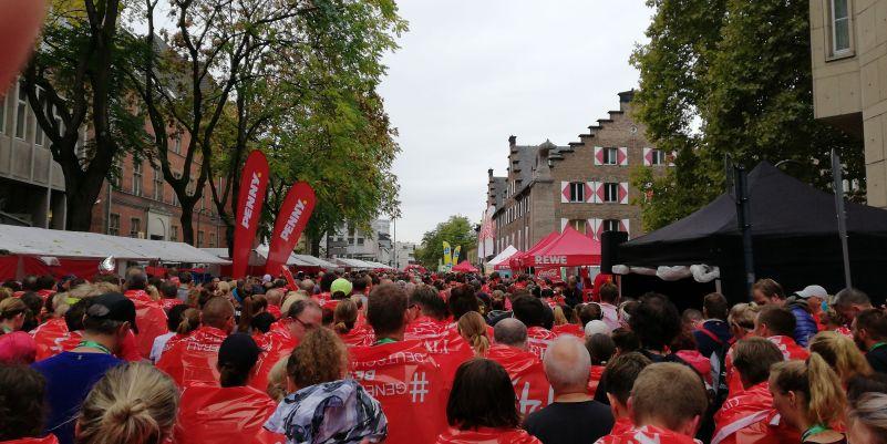 REWE Verpflegungsdorf Rheinenergie Halbmarathon Köln 2018
