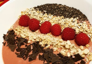 Himbeer Smoothie Bowl