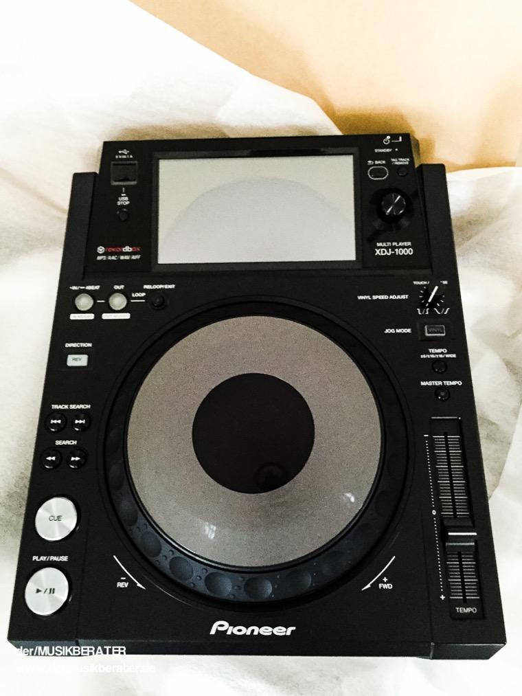 03 Pioneer DJ XDJ 1000 Traktor HID Serato Case Player Nexus Z2 Traktor 2.10 Blog Tech www.dermusikberater.de 08-2015