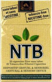 cigarette sans nicotine