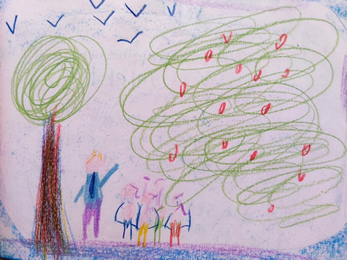 tekening leelring vrije school helmond