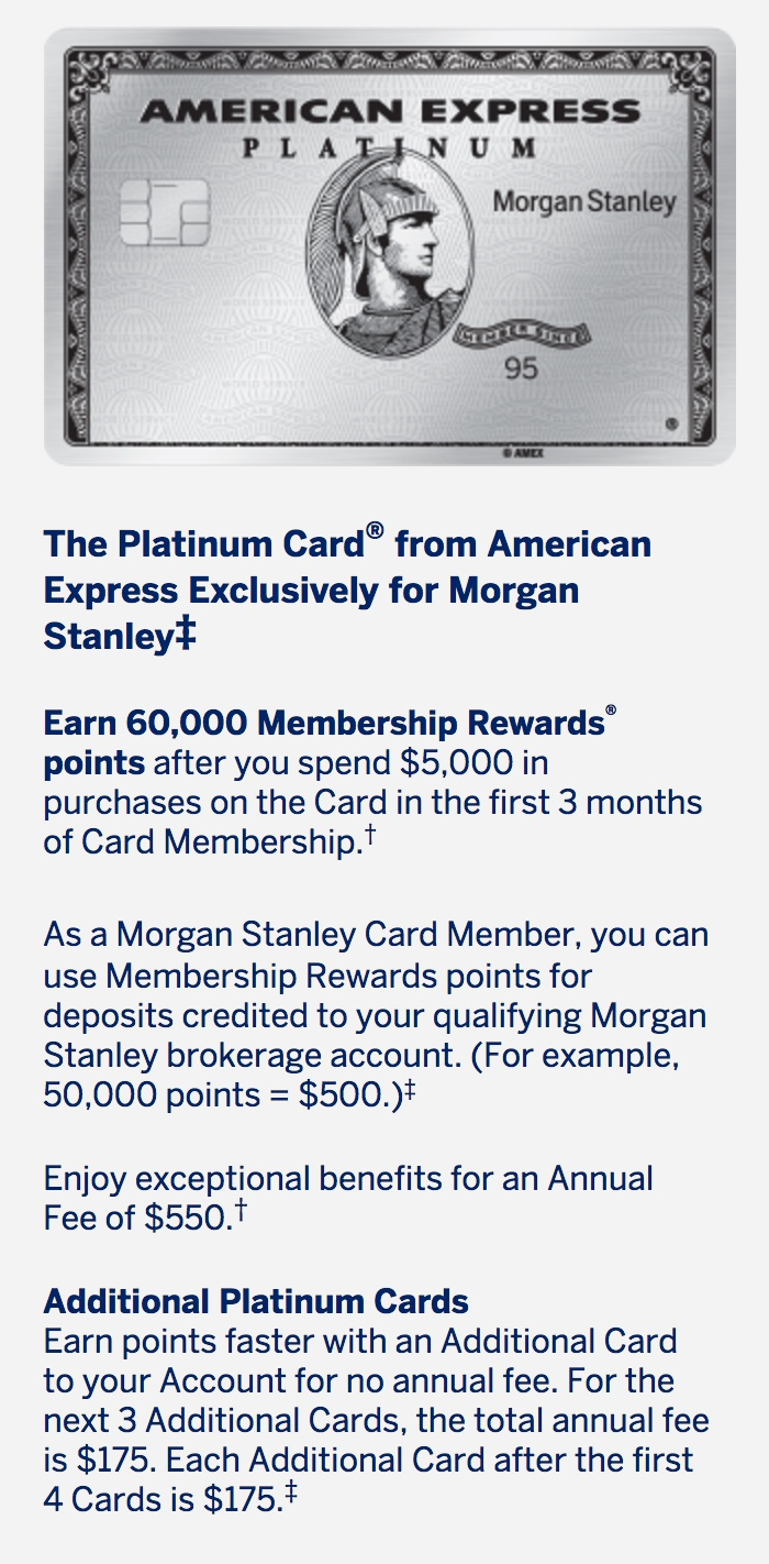 MS AmEx Pt Upgraded to 60K MR for $5k spend | Derp Report