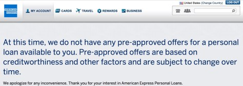 American Express Loans >> 25k Amex Personal Loan At 0 00 Apr Derp Report