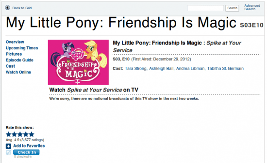 My Little Pony Friendship Is Magic S03E10 Zap2it