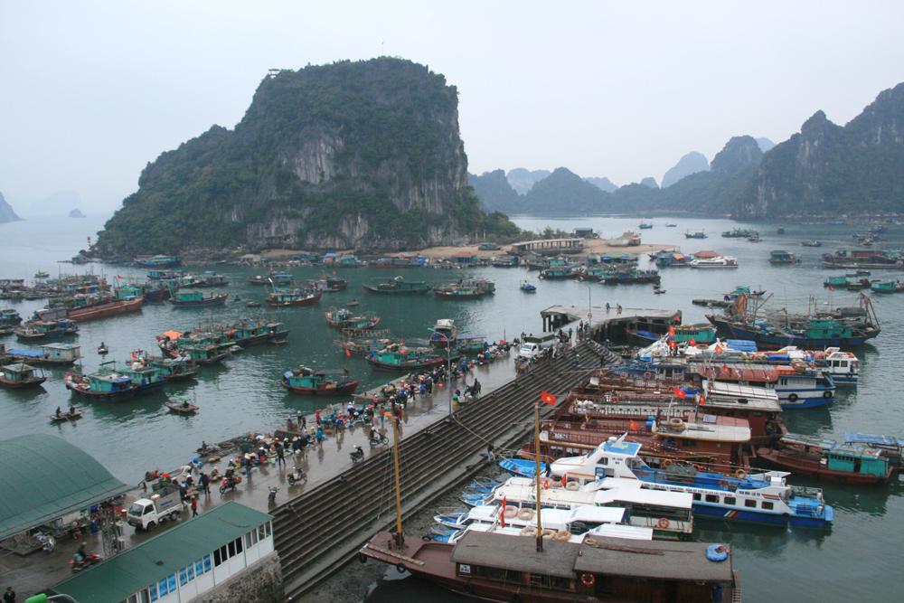 Port de Cai Rong le matin