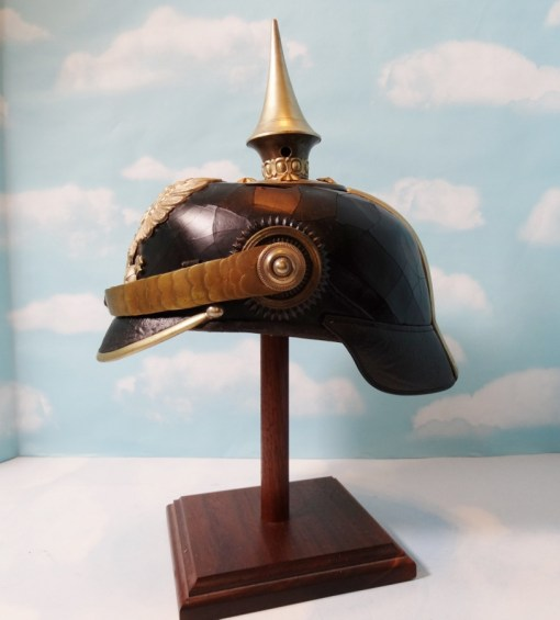 PRUSSIA - PICKELHAUBE - OFFICER - RESERVE PIONIER - Imperial German Military Antiques Sale