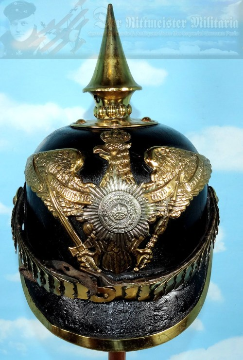 PRUSSIA - PICKELHAUBE - ENLISTED MAN/NCO - M1871 - 2. GARDE-REGIMENT zu FUß