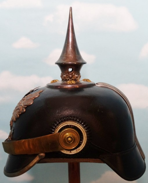 PRUSSIA - PICKELHAUBE - LINE-OFFICER - PIONIER-BATAILLON - Imperial German Military Antiques Sale