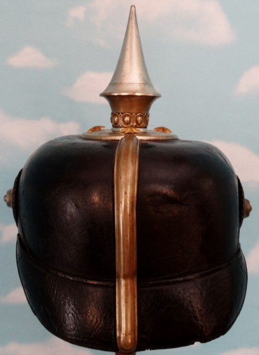 PRUSSIA - PICKELHAUBE - OFFICER - BEAMTE - Imperial German Military Antiques Sale