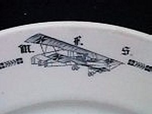 WW I AVIATION PLATES - Imperial German Military Antiques Sale