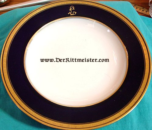 SOUP BOWL FOR PLM WINNER AND WWII LUFTWAFFE GENERAL ARTHUR LAUMANN - Imperial German Military Antiques Sale