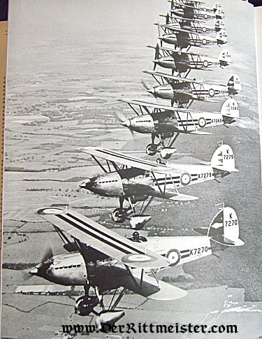PICTORIAL HISTORY OF THE RAF VOLUME ONE 1918-1939 - Imperial German Military Antiques Sale