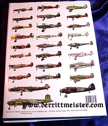 COMPLETE BOOK OF WORLD WAR II COMBAT AIRCRAFT by ENZO ANGELUCCI AND PAOLO MATRICARDI - Imperial German Military Antiques Sale
