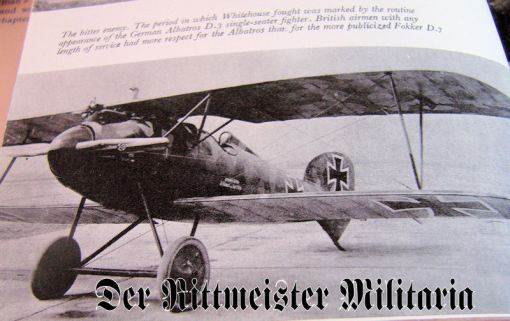 THE FLEDGLING: AN AERIAL GUNNER'S EXPERIENCES IN WW I by ARCH WHITEHOUSE - Imperial German Military Antiques Sale