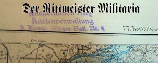 PHOTOGRAPH - POSTCARD - MAP GROUP - Imperial German Military Antiques Sale