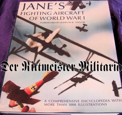 JANE'S FIGHTING AIRCRAFT OF WORLD WAR I - Imperial German Military Antiques Sale