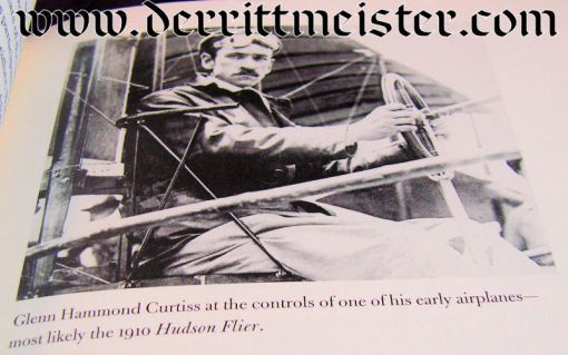 U.S. - BOOK - UNLOCKING THE SKY - GLENN HAMMOND CURTISS AND THE RACE TO INVENT THE AIRPLANE by SETH SHULMAN - Imperial German Military Antiques Sale