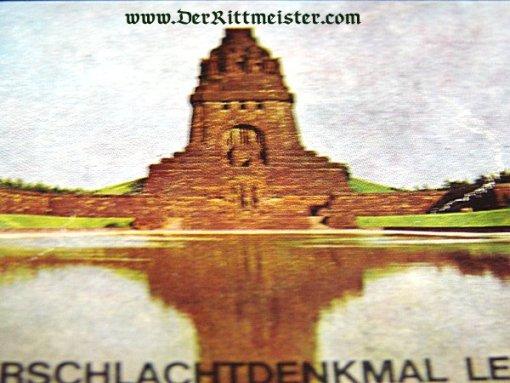 BOX OF MATCHES - VÖLKERSCHLACHTDENKMAL - Imperial German Military Antiques Sale
