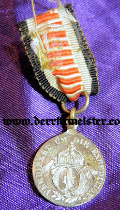 SOUTHWEST AFRICA - NON COMBATANTS MEDAL -MINIATURE - Imperial German Military Antiques Sale