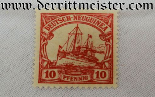 GERMANY COLONIAL  - STAMP SET - NEW GUINEA - Imperial German Military Antiques Sale