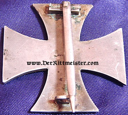 "IRON CROSS - 1914 - 1st CLASS NON VAULTED WITH ""CD"" AND .800 SILVER HALLMARKS - Imperial German Military Antiques Sale"