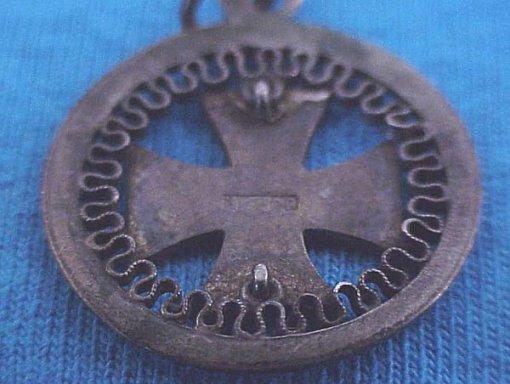 PATRIOTIC PENDANT - IRON CROSS - Imperial German Military Antiques Sale