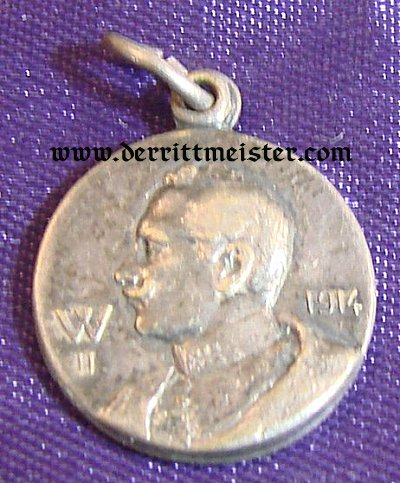 SINGLE-SIDED KAISER WILHELM II PENDANT/ CHARM