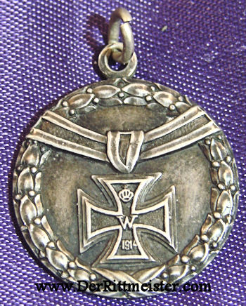 IRON CROSS PATRIOTIC PENDANT