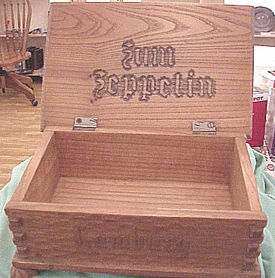 WOODEN BOX FOR A ZEPPELIN - Imperial German Military Antiques Sale