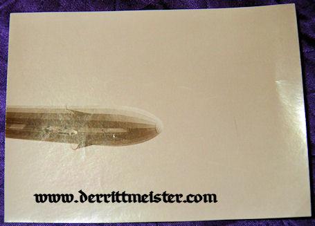 ORIGINAL PHOTOGRAPH - PRE WW I ZEPPELIN SACHSEN - Imperial German Military Antiques Sale