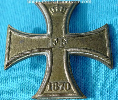 1870 MILITARY SERVICE CROSS 1st CLASS - MECKLENBURG-SCHWERIN - Imperial German Military Antiques Sale