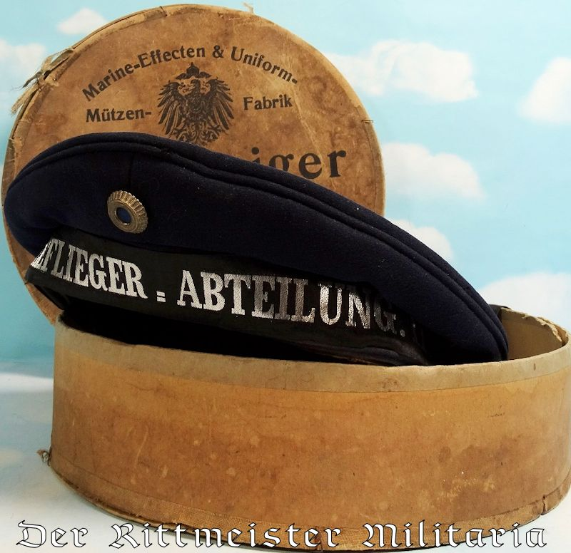 hot sales 40850 f5dbb PRUSSIA - MÜTZE AND STORAGE CARTON - ENLISTED MAN - II  SEEFLIEGER=ABTEILUNG. II. - Der Rittmeister Militaria LLC