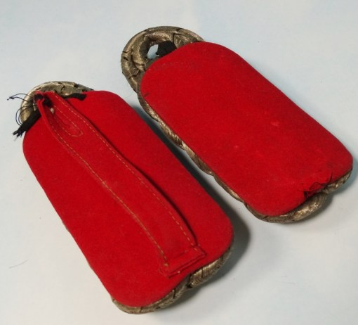 BADEN - SHOULDER BOARDS - OBERSTLEUTNANT - FELD-ARTILLERIE-REGIMENT - Imperial German Military Antiques Sale