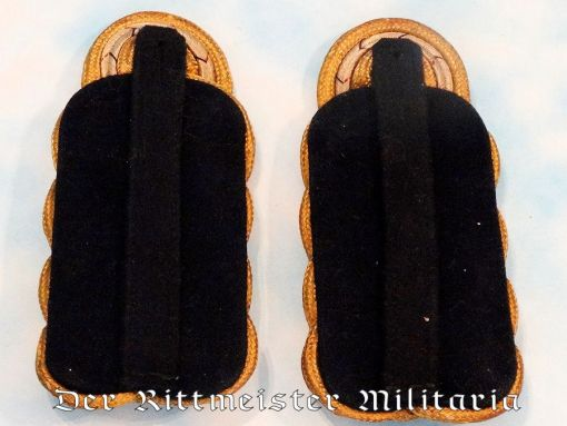 PRUSSIA - SHOULDER BOARDS - VIZEADMIRAL - KAISERLICHE MARINE - Imperial German Military Antiques Sale