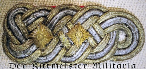 PRUSSIA - SHOULDER BOARD - GENERAL der INFANTERIE /KAVALLERIE a.D. - Imperial German Military Antiques Sale